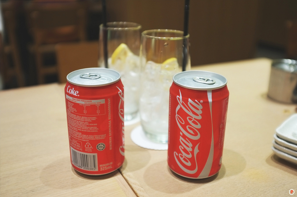Sushi Zanmai  - Coca-Cola