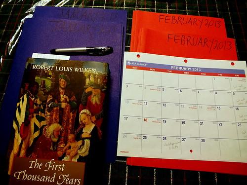 February 2013 diary