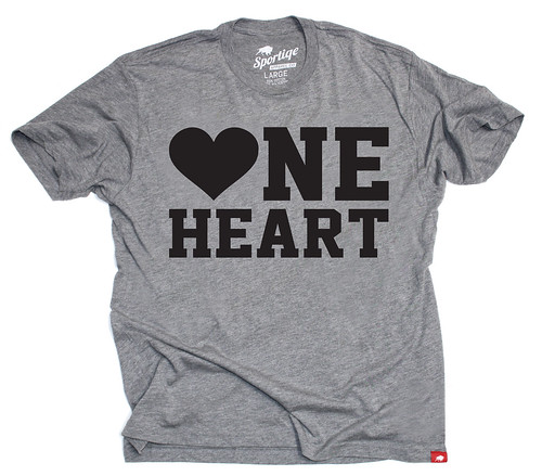 One Heart Shirt Promotes Heart Awareness