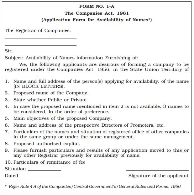 NCERT Class XI Business Studies Chapter 7 – Formation of A Company