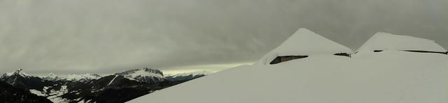 Panorama au chalet de la Buffaz