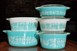Butterprint Pyrex