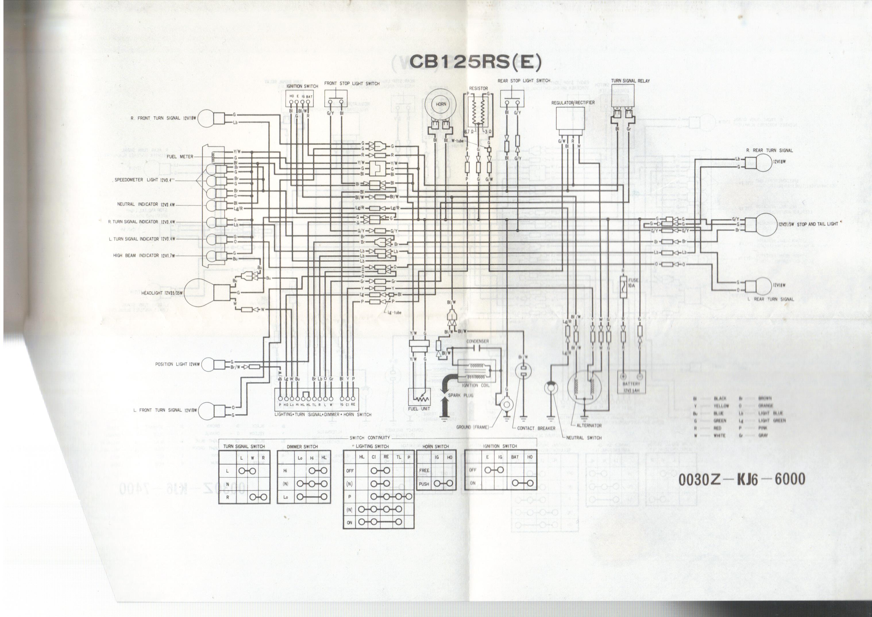 electrical question for honda cb headlight resistor bike. Black Bedroom Furniture Sets. Home Design Ideas