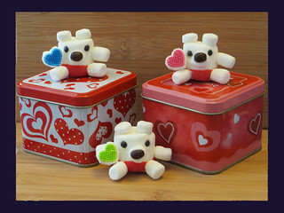 Valentine Mini Marshmallow Bears