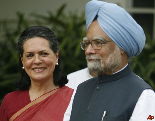 Sonia and Manmohan