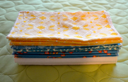 Folksy Flannel Wipes