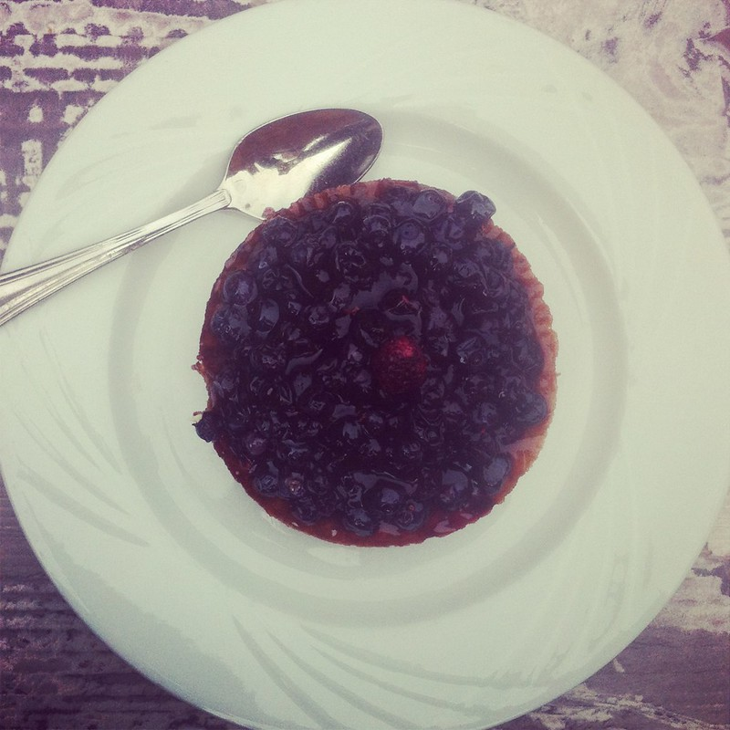 Tartelette aux myrtilles
