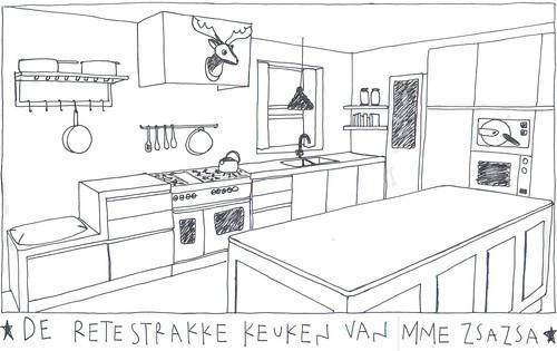 keuken mme zsazsa