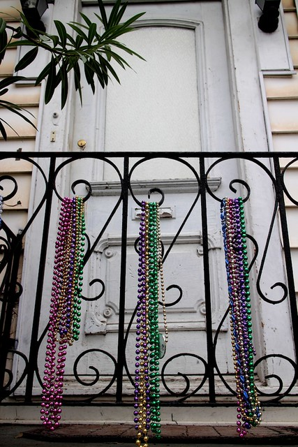 Beads in New Orleans