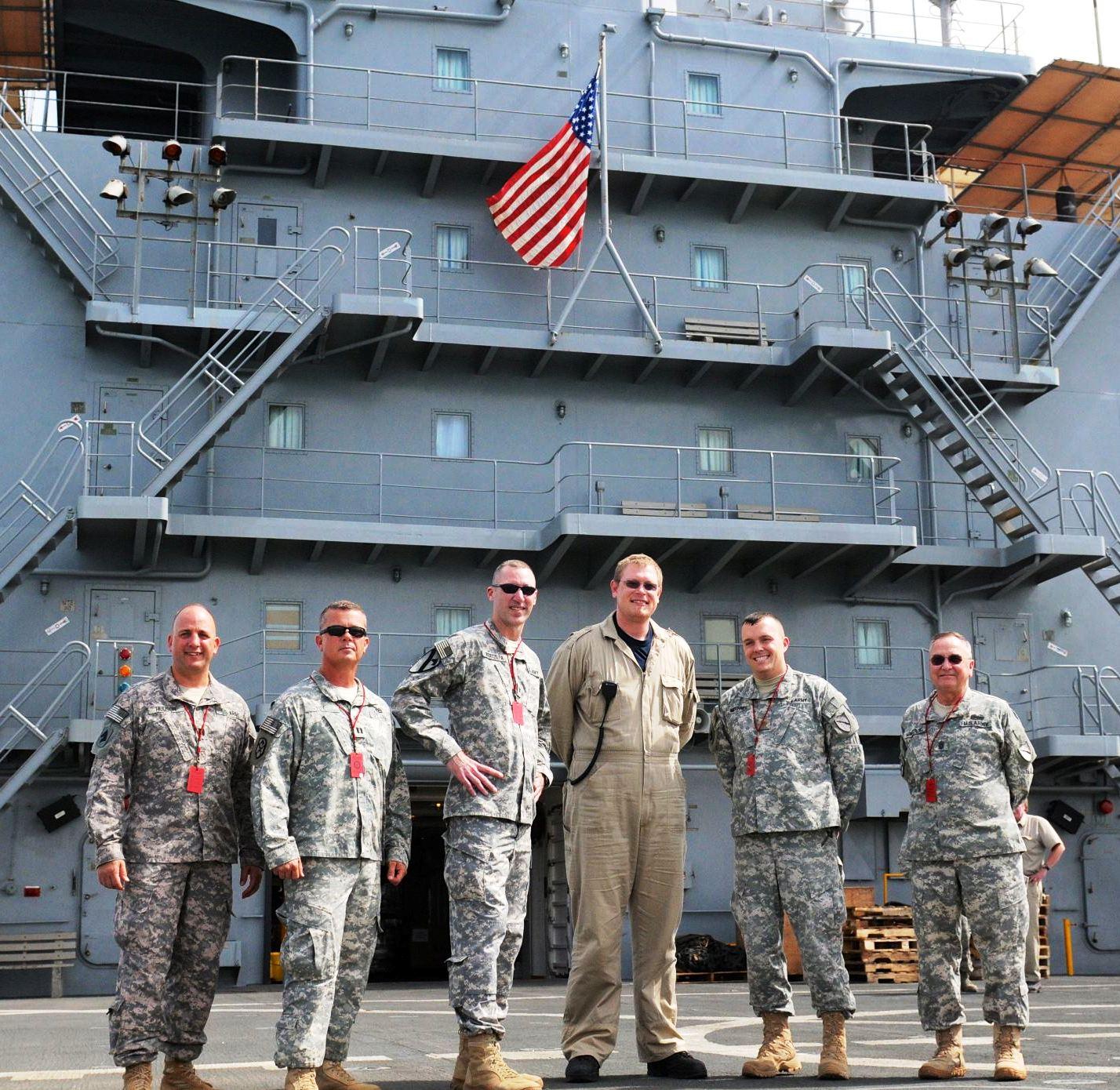 Kentucky VIPs Visit the USNS Joshua Humphreys
