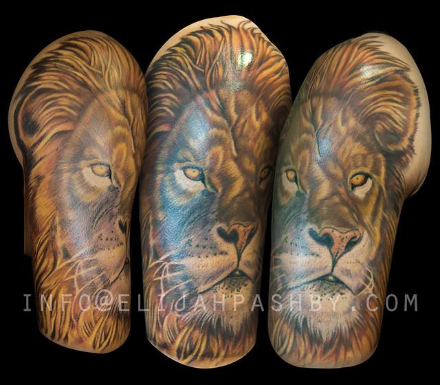 lion quarter sleeve