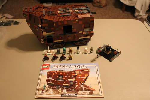 lego sandcrawler 10144 instructions