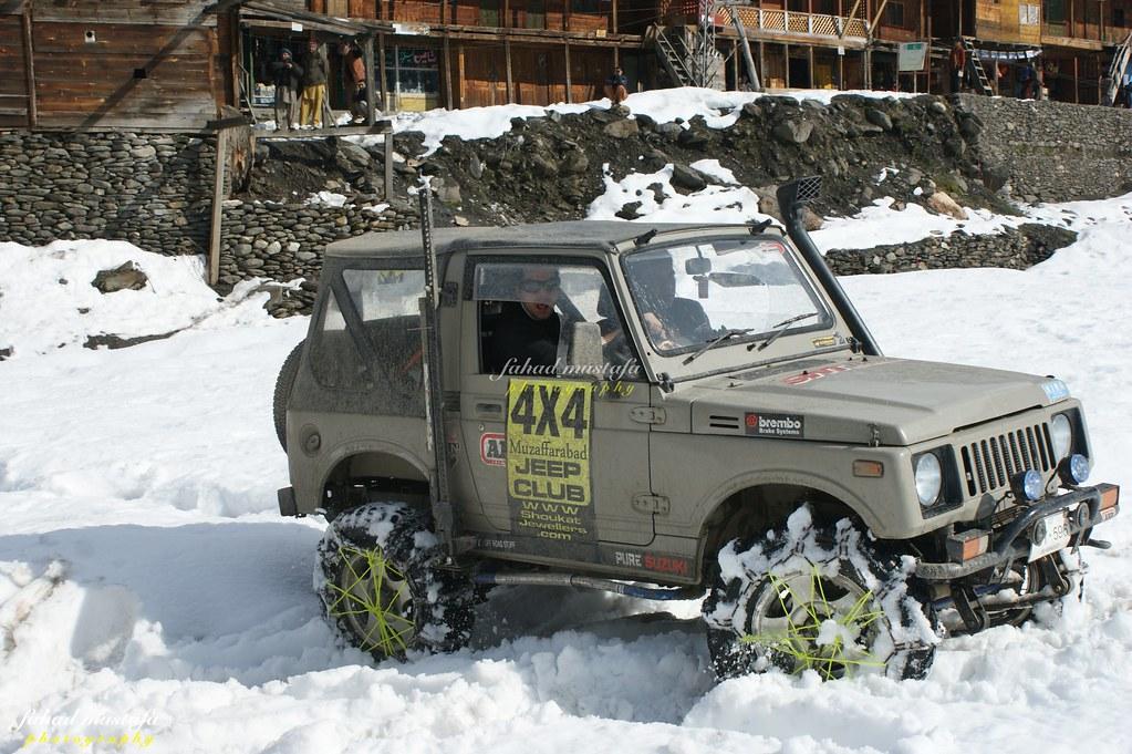 Muzaffarabad Jeep Club Neelum Snow Cross - 8470715551 ca10467099 b