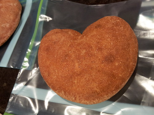 Heart-shaped Valentine's Bread