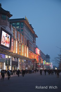 Beijing - Wangfujing Street