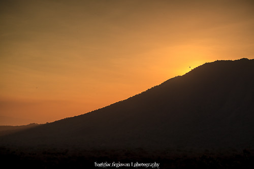 """Sunset Behind The Peak"" by Bachtiar Firgiawan"