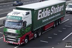 Volvo FH 6x2 Tractor - PX61 BHN - Olivia Susan - Eddie Stobart - M1 J10 Luton - Steven Gray - IMG_8953