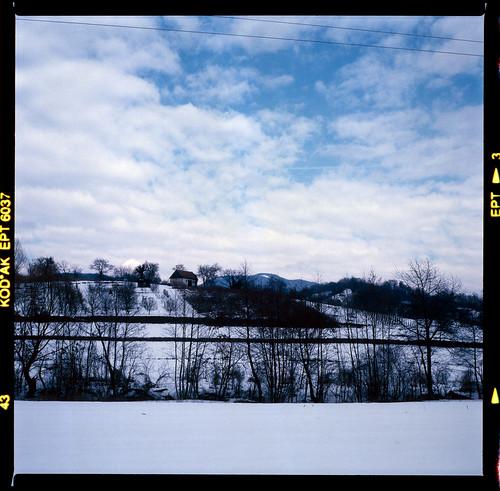 blue winter snow cold 6x6 tlr film clouds mediumformat square kodak slide slidefilm hills mat 124g tungsten ektachrome e6 yashica canoscan ept twinlensreflex twop 80mm yashicamat124g kodakektachrome160t 160asa 2011 yashinon 6×6 160t vuescan 8800f canoscan8800f film:brand=kodak film:iso=160 yashinon135f80mm film:name=ektachrome winter2011 camera:brand=yashica camera:name=yashicamat124g