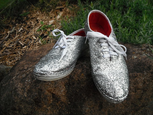 My sparkly sneakers!