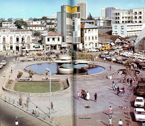 Guide to Lagos 1975 029 Tinubu square