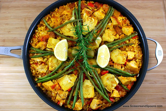 Chicken & Sausage Paella