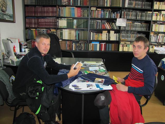 Russian seafarers, crew of mv Plancius, both AB