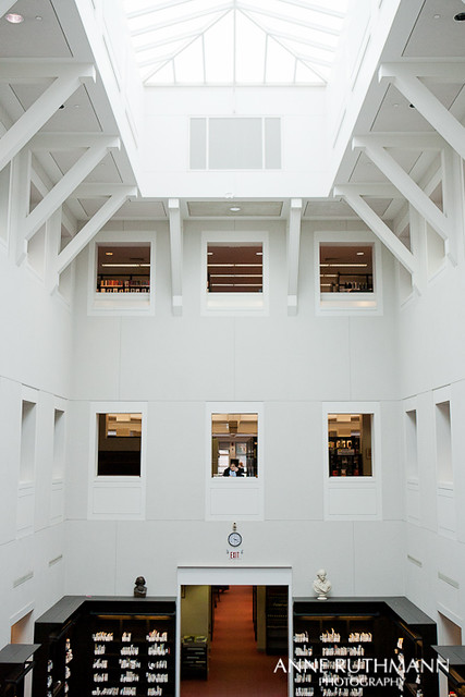 Newton Free Public Library Atrium