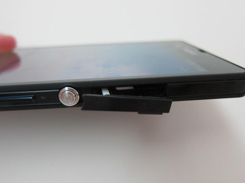 Sony Xperia Z - micro SIM Slot