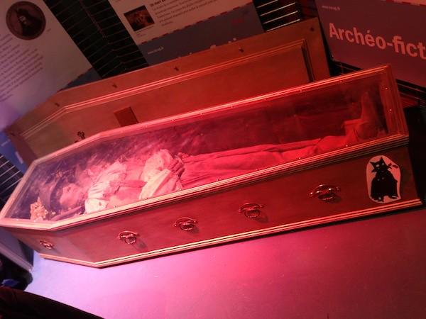 Découverte de la crypte de Dracula, à Epinal : archéologie