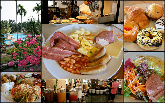 Buffet Breakfast at Bintan Lagoon Resort