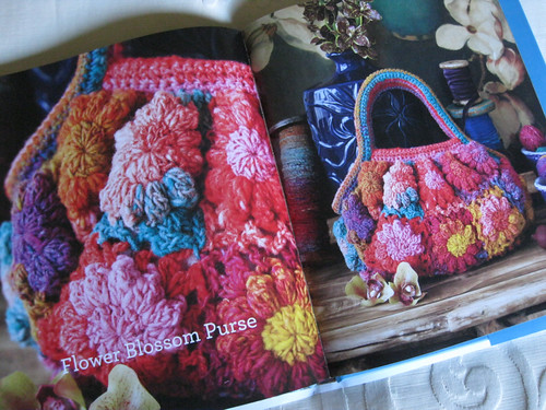 Crochet Noro - Flower Blossom Purse