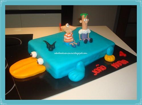 Bolo Perry Phineas e Ferb by Osbolosdasmanas