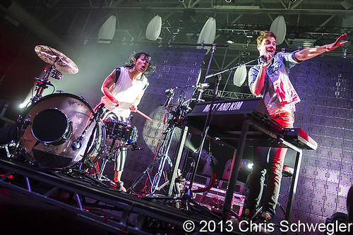 Matt And Kim - 02-21-13 - Compuware Arena, Plymouth, MI