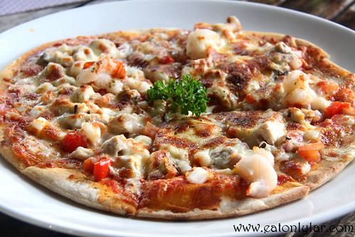 Pizza Au Fruit De Mare, Bandos Island Resort & Spa