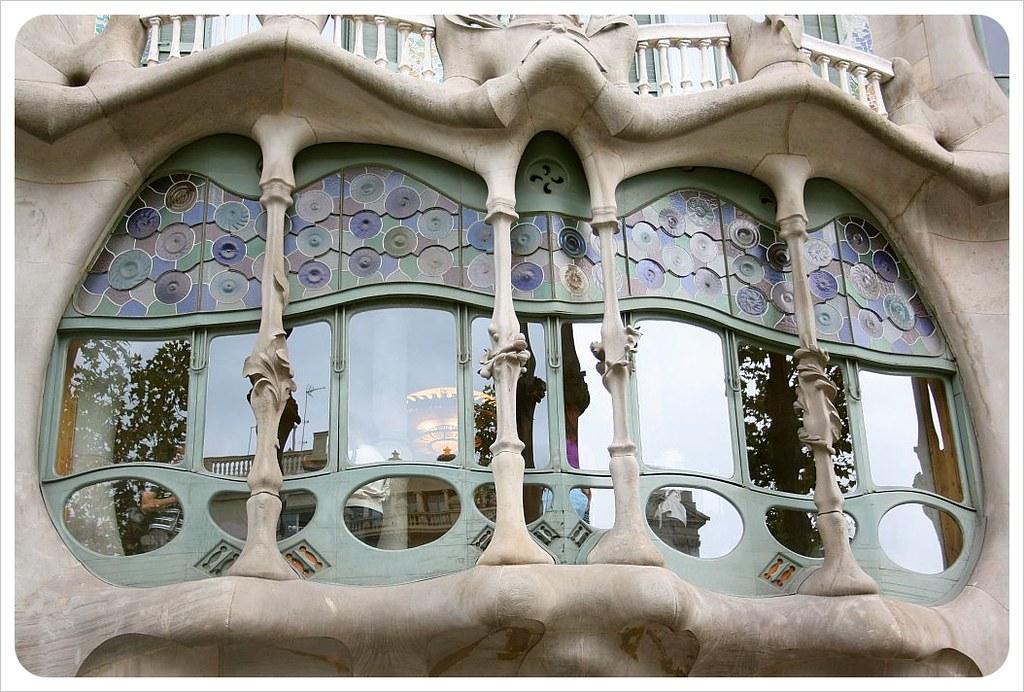 Gaudi building barcelona