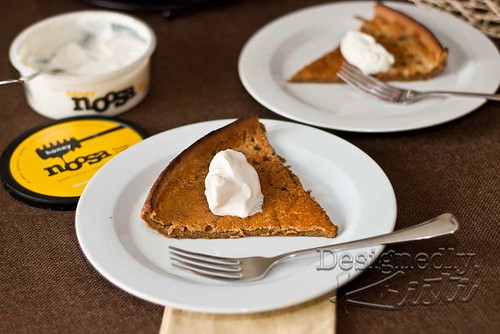 Gingerbread German Pancake with Noosa Honey Yoghurt