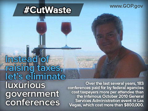 Cut Waste: Luxurious Government Conferences