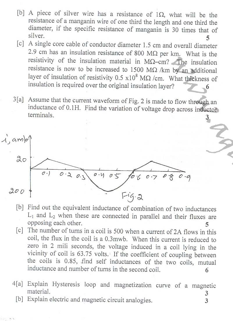 NSIT: Question Papers 2010 – 2 Semester - End Sem - COE-EC-EE-IC-111