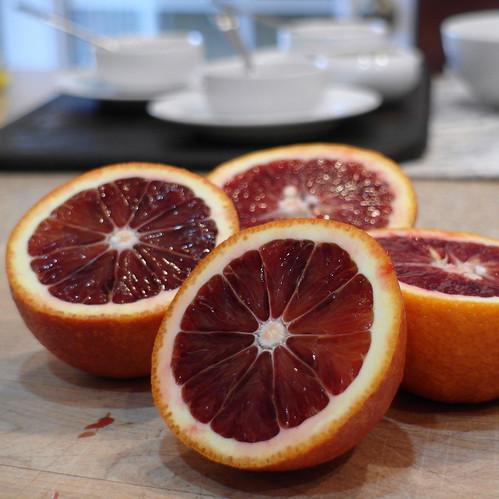 Blood Orange Caramel Sauce