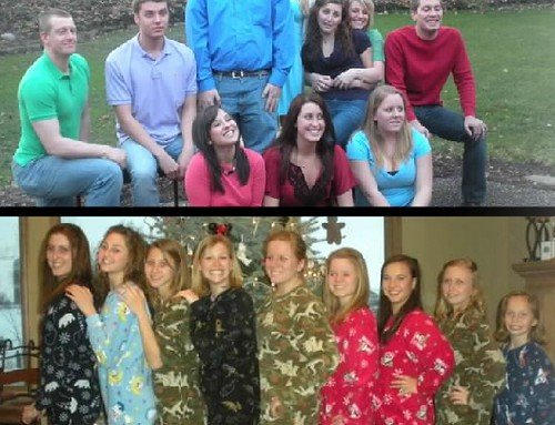 11 types of family photos: the Where to Look?