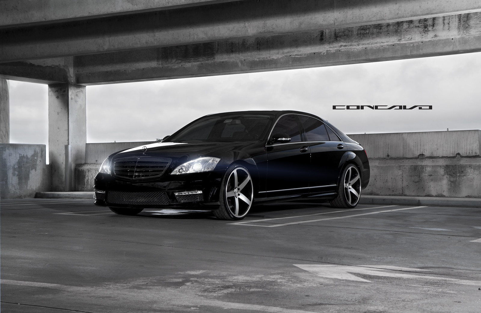 Mercedes Benz S550 On 22 Quot Cw 5 Sitting So Flush