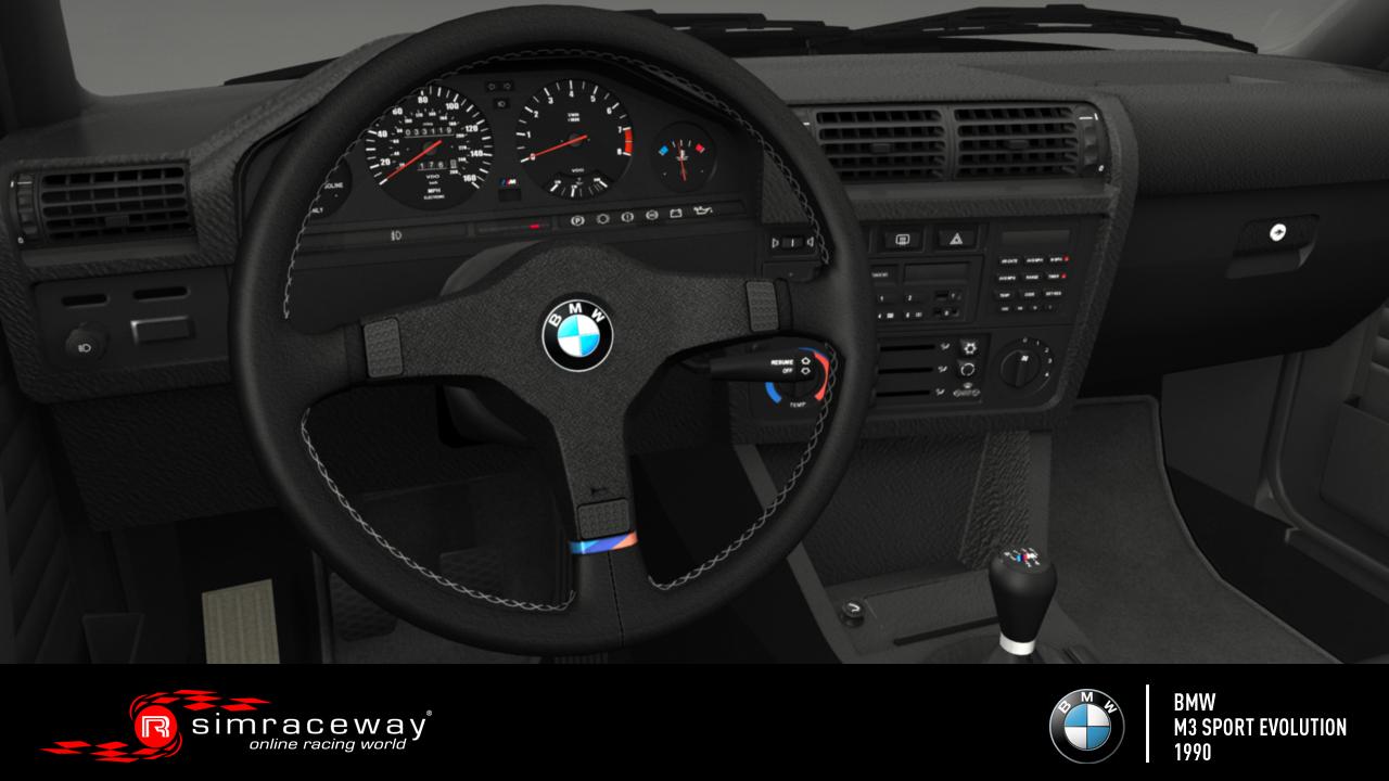 Simraceway 1990 Bmw E30 M3 Sport Evolution Released Bsimracing