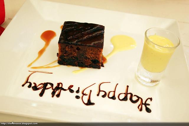 Nosh - Complimentary Dessert