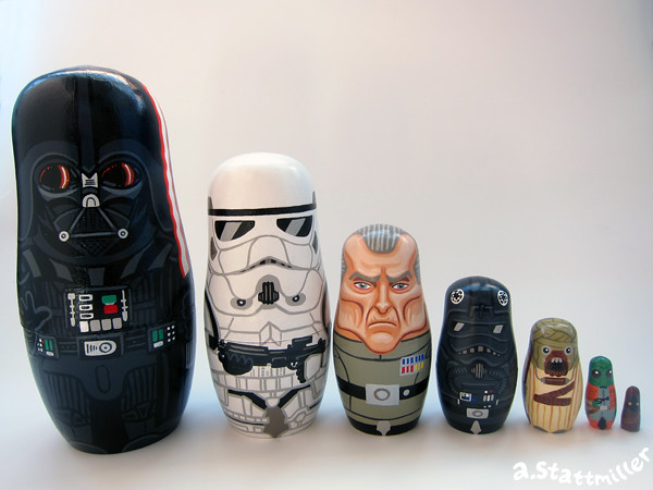 Star Wars Nesting Dolls 05