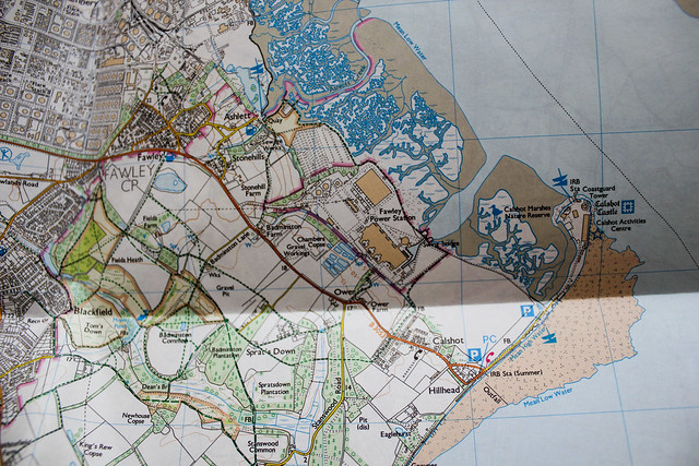 Mapas OL22 New Forest