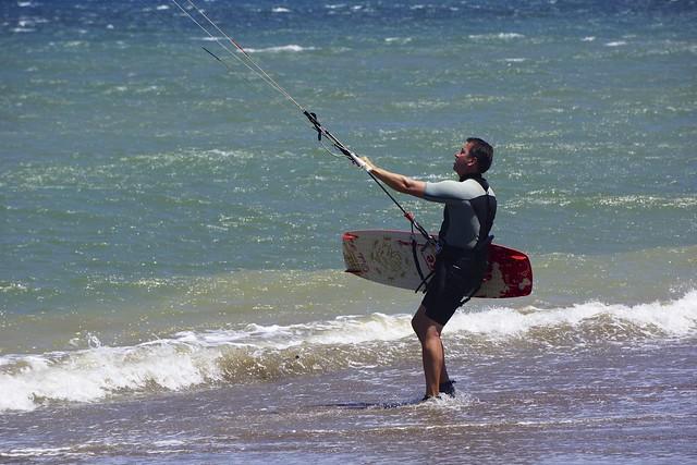 Kiting in Playa Copal, Costa Rica 47