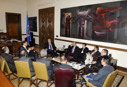 OAS Chief of Staff Receives Delegation from the Chamber of Representatives of Colombia