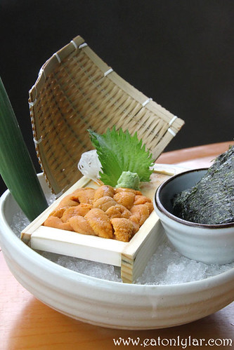 Fresh Sea Urchin, Kura Japanese Restaurant