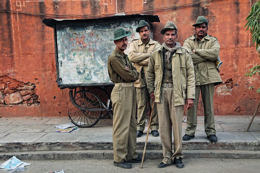Police, Jaipur, India 2013