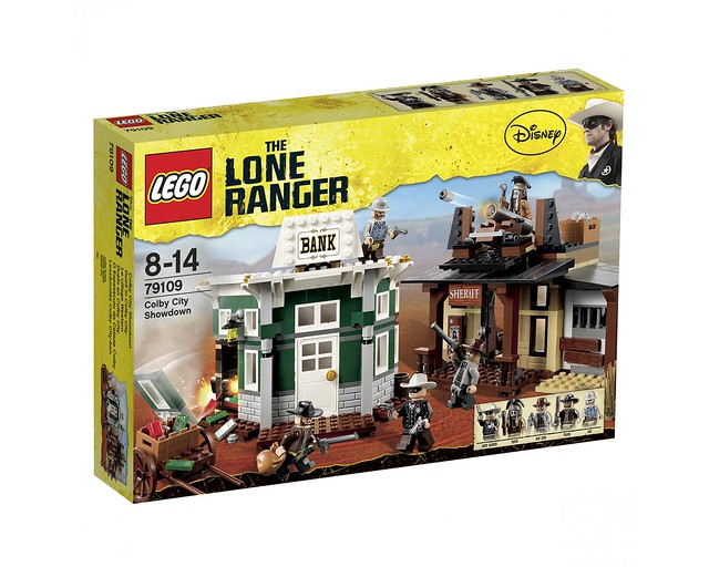 LEGO The Lone Ranger 79109 - Colby City Showdown - BoxArt